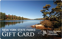 Gift Card - NYS Parks, Recreation & Historic Preservation