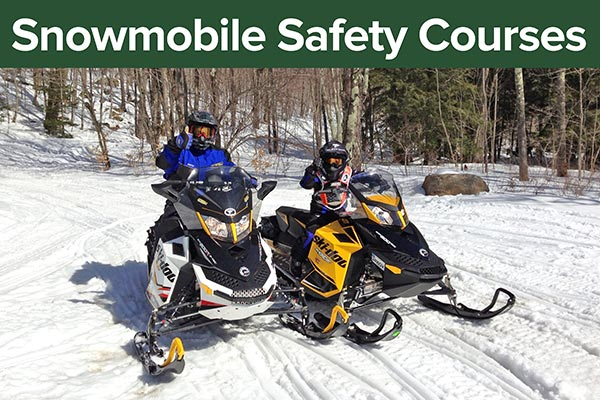 Snowmobile Safety Courses