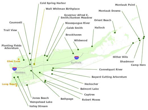 Long Island Region Nys Parks Recreation Amp Historic