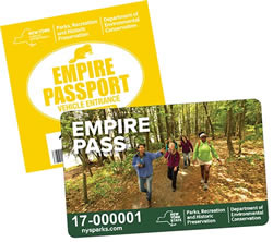 Empire Pass Decal & Card